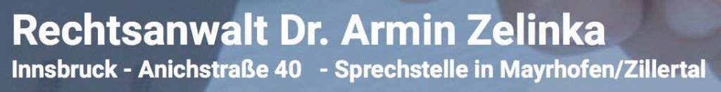 Dr. Armin Zelinka Kanzlei Logo